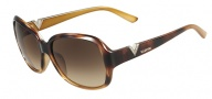 Valentino V613SR Sunglasses Sunglasses - 213 Havana Gold