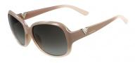 Valentino V613SR Sunglasses Sunglasses - 669 Gradient Poudre