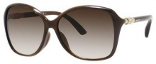 Jimmy Choo Tina/F/S Sunglasses Sunglasses - Brown Opal