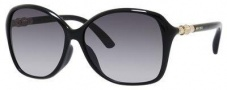 Jimmy Choo Tina/F/S Sunglasses Sunglasses - Shiny Black