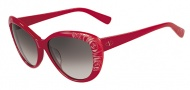 Valentino V617S Sunglasses Sunglasses - 613 Red