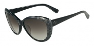 Valentino V617S Sunglasses Sunglasses - 001 Black