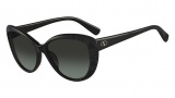 Valentino V617S Sunglasses Sunglasses - 008 Black / Grey
