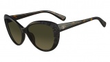 Valentino V617S Sunglasses Sunglasses - 215 Dark Havana