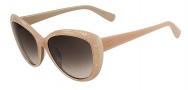 Valentino V617S Sunglasses Sunglasses - 290 Nude