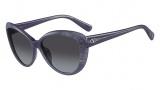 Valentino V617S Sunglasses Sunglasses - 404 Avio