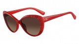 Valentino V617S Sunglasses Sunglasses - 600 Red / Brown