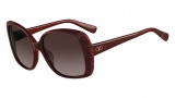 Valentino V618S Sunglasses Sunglasses - 622 Rouge Noir / Burgundy