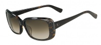 Valentino V619S Sunglasses Sunglasses - 215 Dark Havana
