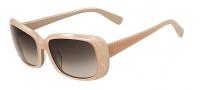 Valentino V619S Sunglasses Sunglasses - 290 Nude