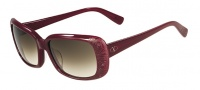 Valentino V619S Sunglasses Sunglasses - 606 Rouge Noir