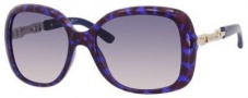 Jimmy Choo Wiley/S Sunglasses Sunglasses - Havana Violet