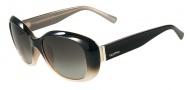 Valentino V620SR Sunglasses Sunglasses - 004 Black / Poudre