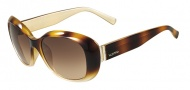 Valentino V620SR Sunglasses Sunglasses - 213 Havana / Gold