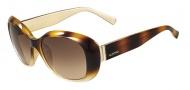 Valentino V620SR Sunglasses Sunglasses - 213 Havana / Gold
