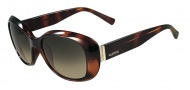 Valentino V620SR Sunglasses Sunglasses - 215 Dark Havana