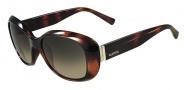 Valentino V620SR Sunglasses Sunglasses - 215 Dark Havana