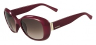 Valentino V620SR Sunglasses Sunglasses - 606 Rouge Noir
