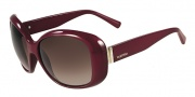 Valentino V621SR Sunglasses Sunglasses - 606 Rouge Noir