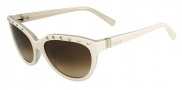 Valentino V622S Sunglasses Sunglasses - 107 Ivory / Cream