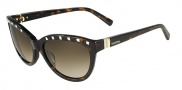 Valentino V622S Sunglasses Sunglasses - 215 Dark Havana