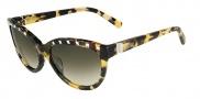 Valentino V622S Sunglasses Sunglasses - 281 Tokyo Havana