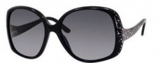 Jimmy Choo Zeta/S Sunglasses Sunglasses - Shiny Black