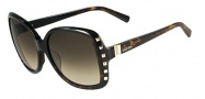Valentino V623S Sunglasses Sunglasses - 215 Dark Havana