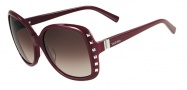 Valentino V623S Sunglasses Sunglasses - 606 Rouge Noir
