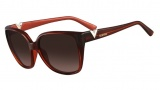 Valentino V624S Sunglasses Sunglasses - 613 Red