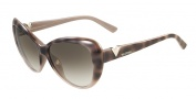 Valentino V625S Sunglasses Sunglasses - 212 Havana Rose