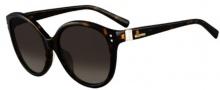Valentino V626S Sunglasses Sunglasses - 261 Beige Horn