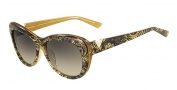 Valentino V628S Sunglasses Sunglasses - 712 Gold Pearl