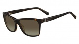 Valentino V629S Sunglasses Sunglasses - 215 Dark Havana