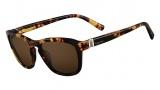Valentino V630S Sunglasses Sunglasses - 214 Havana