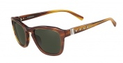 Valentino V631S Sunglasses Sunglasses - 236 Striped Brown