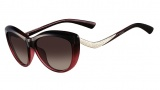 Valentino V632SR Sunglasses Sunglasses - 614 Gradient Burgundy
