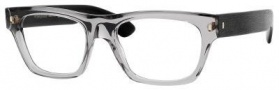 Yves Saint Laurent 2313 Eyeglasses Eyeglasses - Gray Transparent