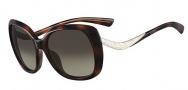 Valentino V633SR Sunglasses Sunglasses - 214 Havana