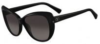 Valentino V634S Sunglasses Sunglasses - 001 Black