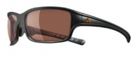 Adidas Swift Solo L Sunglasses Sunglasses - 6051 Gray Transparent / Gray Silver Gradient