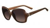 Valentino V637S Sunglasses Sunglasses - 264 Beige
