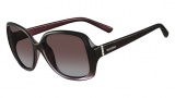 Valentino V637S Sunglasses Sunglasses - 539 Gradient Plum