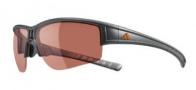 Adidas Evil Cross Half Rim L Sunglasses Sunglasses - 6051 Grey Transparent / Grey Silver Gradient