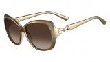 Valentino V639S Sunglasses Sunglasses - 278 Sand
