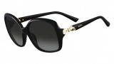Valentino V640S Sunglasses Sunglasses - 001 Black