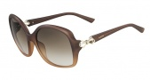 Valentino V640S Sunglasses Sunglasses - 203 Brown Honey