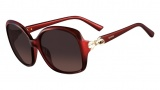 Valentino V640S Sunglasses Sunglasses - 613 Red