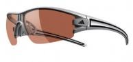 Adidas Evil Eye Half Rim XS Sunglasses Sunglasses - 6057 Matte Silver Black / LST Active Silver