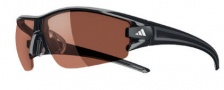 Adidas Evil Eye Half Rim XS Sunglasses Sunglasses - 6060 Shiny black / LST Polarized Silver